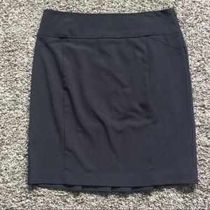 NY collection black casual skirt